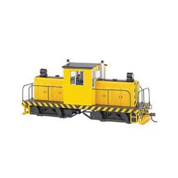 Click here to learn more about the Bachmann Industries On30 Spectrum 50-Ton Center Cab,Yellow/Blk Stripes.