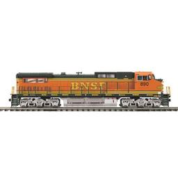 Click here to learn more about the M.T.H. Electric Trains O Hi-Rail Dash-8 w/PS3, BNSF.