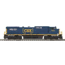 Click here to learn more about the M.T.H. Electric Trains O Hi-Rail Dash-8 w/PS3, CSX.