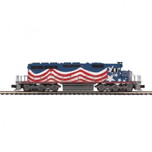 M.T.H. Electric Trains O SD40-2 w/PS3, UP #3300