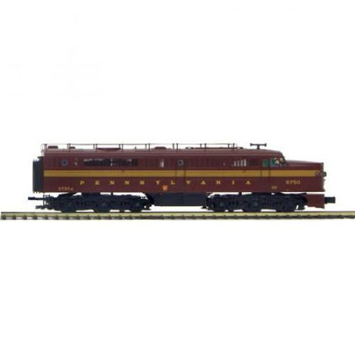 M.T.H. Electric Trains O Hi-Rail PA A Dummy, PRR #58