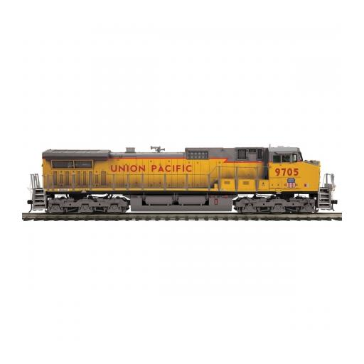 M.T.H. Electric Trains O Dash-9 w/PS3 & Scale Wheels, UP #9705