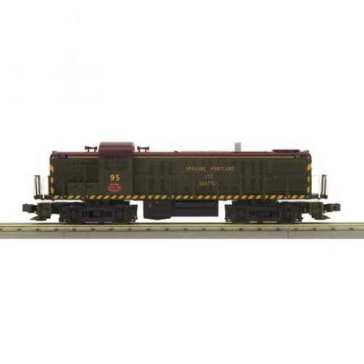 M.T.H. Electric Trains O-27 RS3 w/PS3, SP&S #95