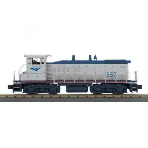 M.T.H. Electric Trains O-27 MP15DCvw/PS3, Amtrak #537