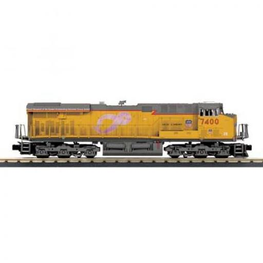 M.T.H. Electric Trains O-27 Imperial ES44AC w/PS3, UP #7400