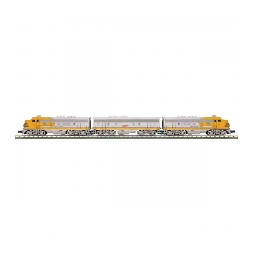 M.T.H. Electric Trains O-27 F-3 A/B/A w/PS3, SF #315L