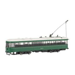 Click here to learn more about the Bachmann Industries O WIL Peter Witt Street Car, Brooklyn/Queens Trans.