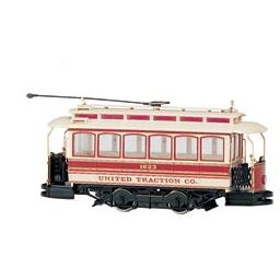 Click here to learn more about the Bachmann Industries On30 Spectrum Street Car, United.