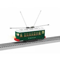 Click here to learn more about the Lionel O-27 Toymaker Limited Trolley Set.