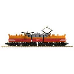 Click here to learn more about the M.T.H. Electric Trains O Hi-Rail EP-2 Bipolar w/PS3,MILW/Org/Red/Gray#E-3.
