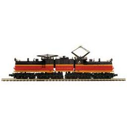 Click here to learn more about the M.T.H. Electric Trains O Hi-Rail EP-2 Bipolar w/PS3, MILW #E-2.