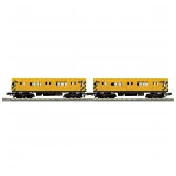 Click here to learn more about the M.T.H. Electric Trains O-27 R-12 w/PS3, MTA/MOW #35798 (2).