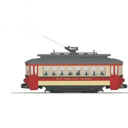 Click here to learn more about the M.T.H. Electric Trains O-27 Bump-n-Go Trolley, NYT.