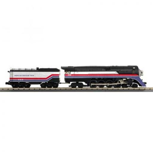 M.T.H. Electric Trains O-27 Imperial 4-8-4 GS-4 w/PS3, American Freedom