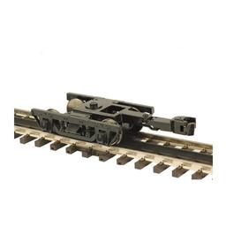 Click here to learn more about the M.T.H. Electric Trains O 64'' Wood Passenger Trucks (2) (2R).