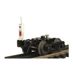 Click here to learn more about the M.T.H. Electric Trains O RB Truck/End Of Train Device, White.