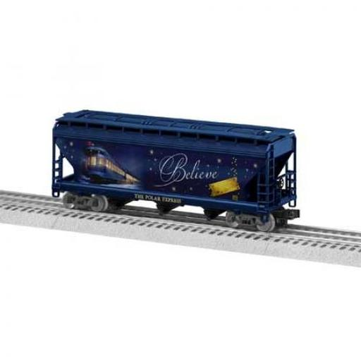 Lionel O-27 3-Bay Hopper, The Polar Express