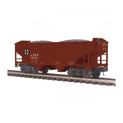 M.T.H. Electric Trains O 2-Bay Offset Hopper, SF #180874