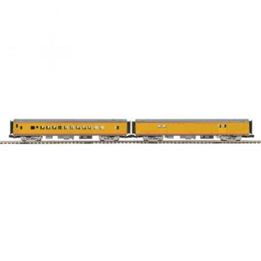 M.T.H. Electric Trains O 70'' Streamline Smooth Baggage/Coach, UP #5650
