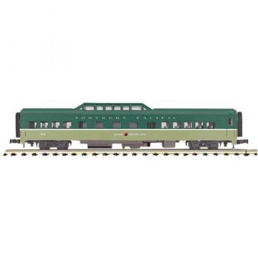 M.T.H. Electric Trains O 70'' Streamline Smooth Vista Dome, NP #310