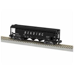 Click here to learn more about the Lionel S AF 3 Bay Covered Hopper, RDG #59955.
