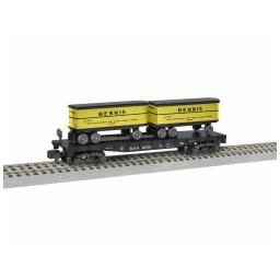 Click here to learn more about the Lionel S AF TOFC Flatcar, B&O/Hennis #9154.