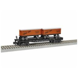 Click here to learn more about the Lionel S AF TOFC Flatcar, D&LW #16419.