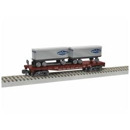 Click here to learn more about the Lionel S AF TOFC Flatcar, PRR/Mason-Dixon #469642.