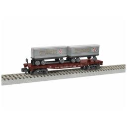 Click here to learn more about the Lionel S AF TOFC Flatcar, SAL #47164.