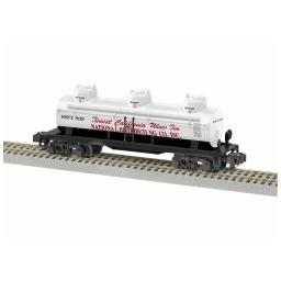 Click here to learn more about the Lionel S AF 3-Dome Tankcar, National Distributing #833.