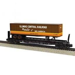 Click here to learn more about the M.T.H. Electric Trains S Scale Flat w/48'' Trailer, IC #62813.