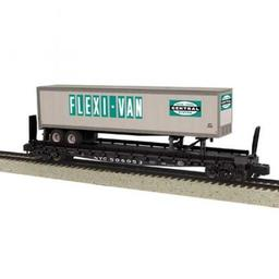 Click here to learn more about the M.T.H. Electric Trains S Scale Flat w/48'' Trailer, NYC #506059.