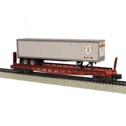 Click here to learn more about the M.T.H. Electric Trains S Scale Flat w/48'' Trailer, PRR #475263.