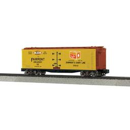 Click here to learn more about the M.T.H. Electric Trains S 40'' Wood Reefer, Fairmont Creamery #30212.